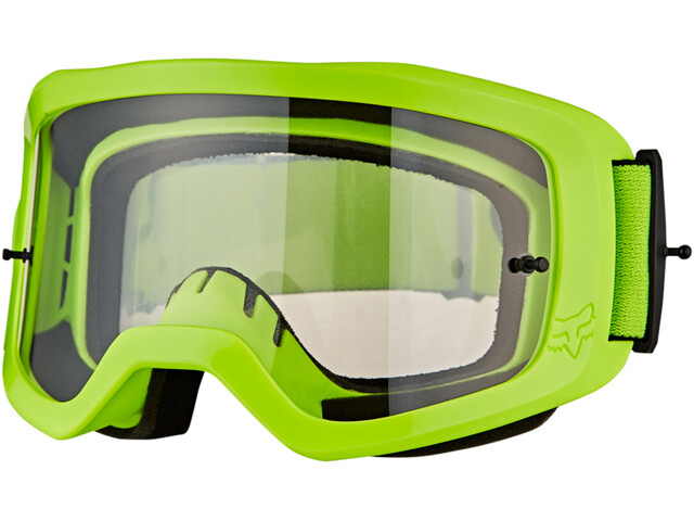 Fox Main II Race Goggles fluorescent yellow/clear